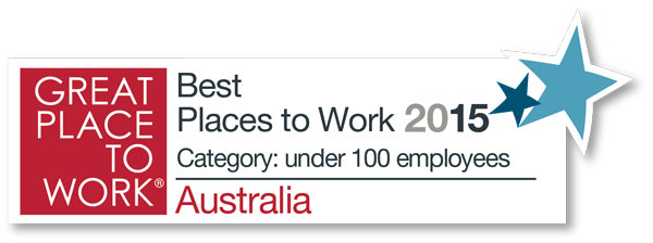 Proclaim is one Australia's Top 50 Places to Work 2015